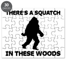 There's a Squatch in these wo Puzzle