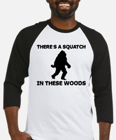 There's a Squatch in these wo Baseball Jersey