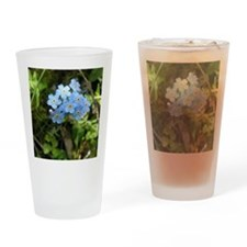 Forget-Me-Not #01 Drinking Glass