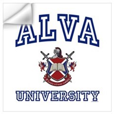 ALVA University Wall Art Wall Decal