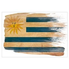 Uruguay Flag Wall Art