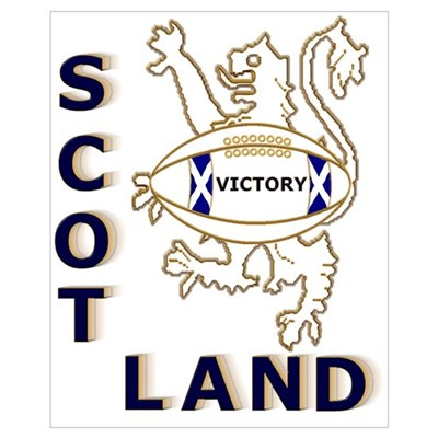 Scotland Rugby Designs Wall Art Canvas Art