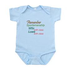 Remember Sportsmanship Infant Bodysuit