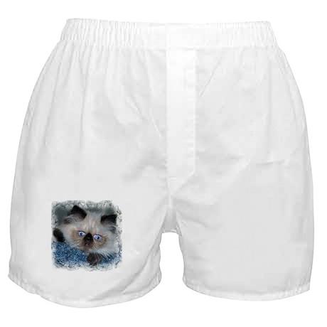 Blue-Eyed Himalayan Kitten Boxer Shorts
