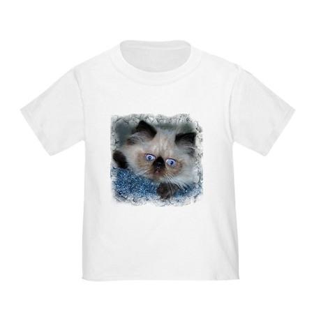 Blue-Eyed Himalayan Kitten Toddler T-Shirt