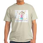 Pumped for Success Ash Grey T-Shirt