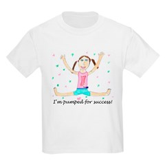 Pumped for Success Kids T-Shirt