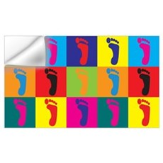 Podiatry Pop Art Wall Art Wall Decal