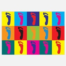 Podiatry Pop Art Wall Art