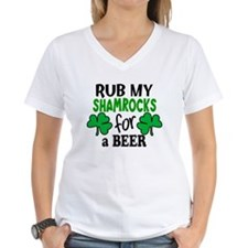 Rub My Shamrocks For a Beer Shirt
