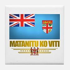 """""""Fiji Pride"""" Tile Coaster"""