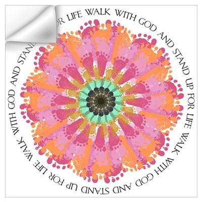 Stand Up For Life Wall Art Wall Decal