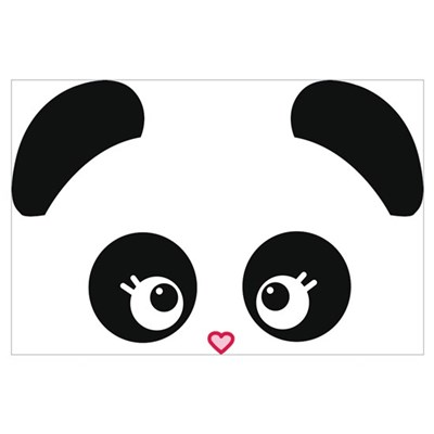 Love Panda® Wall Art Canvas Art