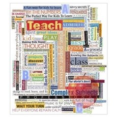 Teacher Wall Art Poster