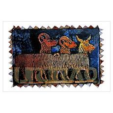 The Goats of Ur Iraq Wall Art Poster