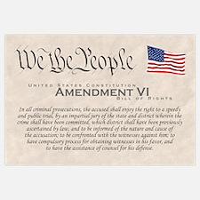 Amendment VI Wall Art