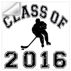Class Of 2016 Hockey Wall Art Wall Decal