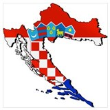 Croatian Wrapped Canvas Art