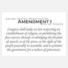 Amendment I Wall Art