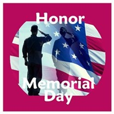 Memorial Day Wall Art Poster