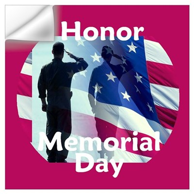 Memorial Day Wall Art Wall Decal