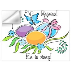Easter Egg Rejoice Wall Art Wall Decal