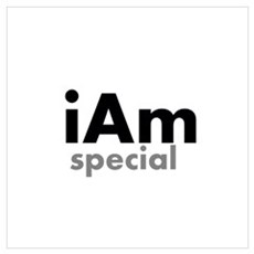 iAm Special Merchandise Wall Art Canvas Art