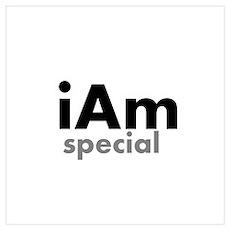 iAm Special Merchandise Wall Art Poster