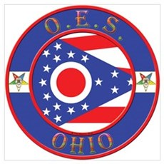 Ohio OES Wall Art Poster