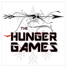 Hunger Games Gear Wall Art Poster