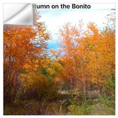 Autumn on the Bonito #2 -- Wall Art Wall Decal