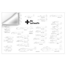 Luftwaffe Wall Art Wall Decal