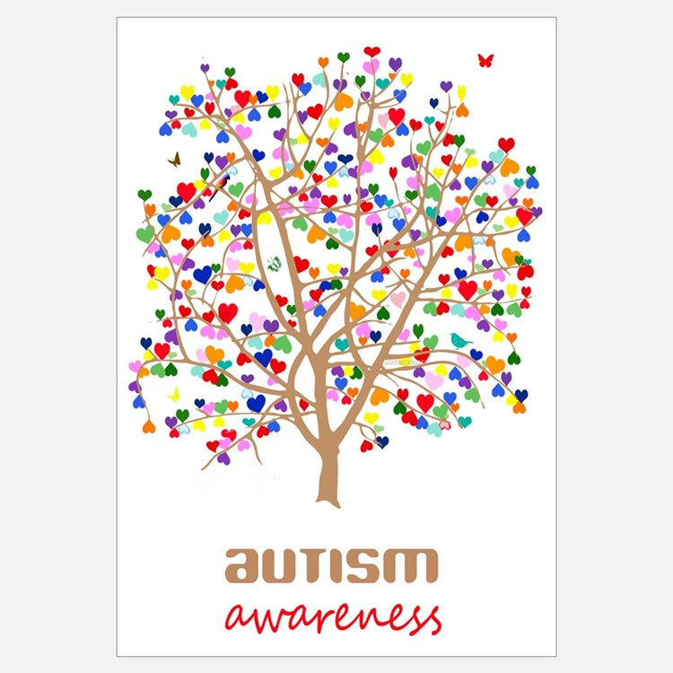 Tree of Autism Wall Art