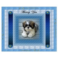 Missing You Wall Art Poster