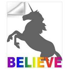 Believe in Unicorns Wall Art Wall Decal