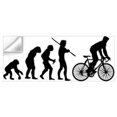 Cycling Evolution Wall Art Wall Decal