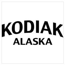 Kodiak Alaska Wall Art Poster