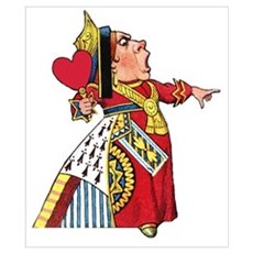 The Queen of Hearts Wall Art Poster
