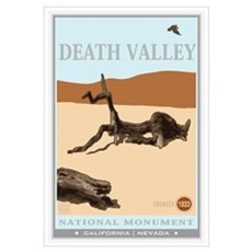 National Parks - Death Valley 4 Wall Art Framed Print
