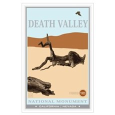 National Parks - Death Valley 4 Wall Art Poster