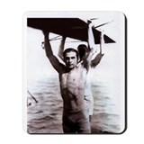 Rudolph valentino Mouse Pads