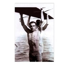 Rudolph Valentino Swimsuit Pi Postcards (Package o