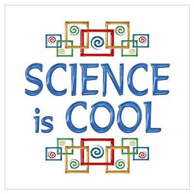 Science is Cool Wall Art Poster