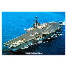 USS RANGER Wall Art