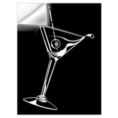 8-Ball Martini Wall Art Wall Decal
