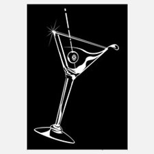 8-Ball Martini Wall Art