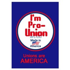 Pro Union Wall Art Poster
