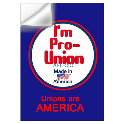 Pro Union Wall Art Wall Decal