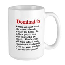 Dominatrix Definition Mugs