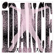iDANCE by DanceBay.com Wall Art Poster